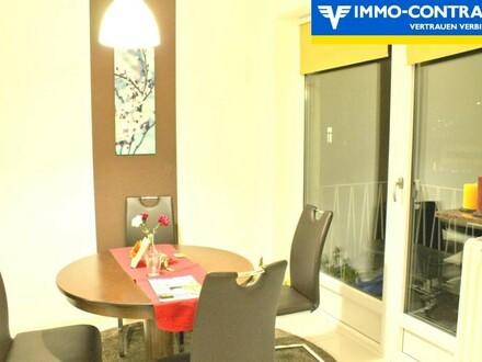 Sehr schöne 3-Zimmer-Wohnung zentral und ruhig mit Balkon und Loggia