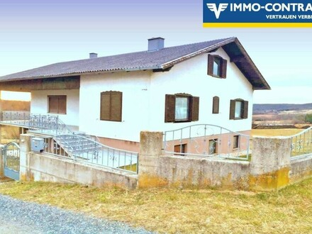 Traumhafte Umgebung - Großzügiges Haus mit Garten und Sonnenterrasse mit herrlichem Ausblick
