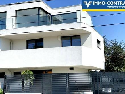 Exklusive Doppelhaushälfte mit großer Dachterrasse!!!