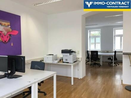An die Arbeit - trendige Location - fairer Preis - Ihr Büro in der Leitermayergasse
