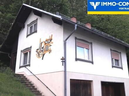 Kleines Haus, mit Panoramablick, ruhige Lage, in der Thermenlandregion