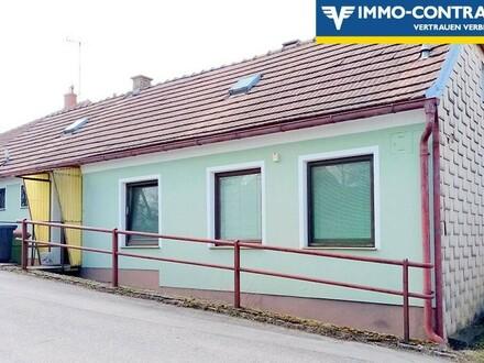 Anlageobjekt, vermietetes Haus, Mieter hat unbefristeten Mietvertrag