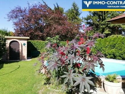 Ihre eigene kleine Idylle; Einfamilienhaus mit großem, top- gestaltetem Garten