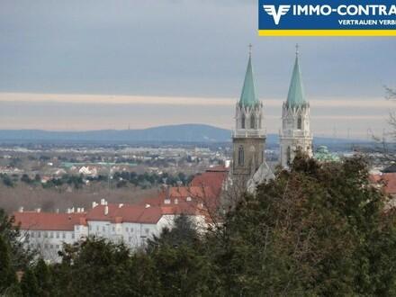 Blick auf Klosterneuburg