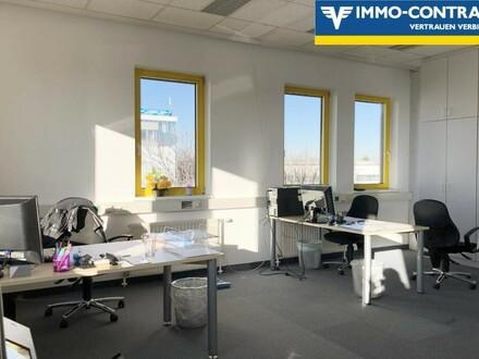 Laxenburgerstraße: Schönes und preiswertes Büro mit Terrasse, Stellplätzen und Lager