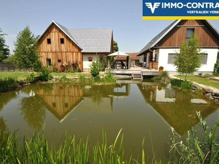 Traumhof mit Schwimmteich - Pferdehaltung erlaubt - Weitere 5,5ha möglich!
