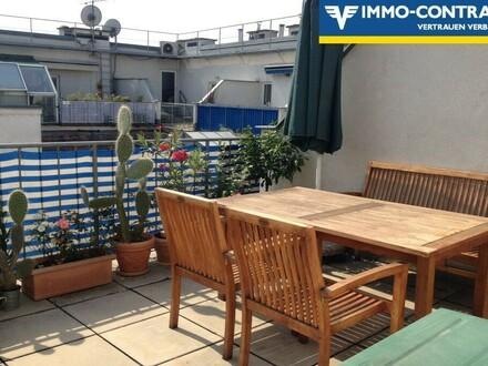 DG Maisonette mit großer südseitiger Terrasse in toller Lage