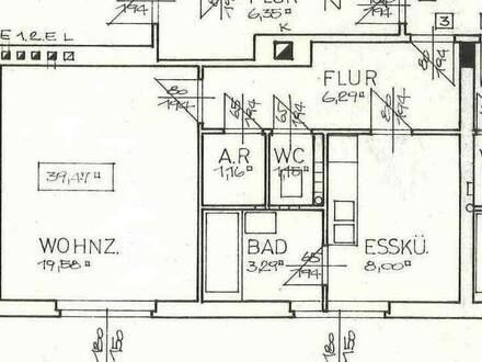 Plan kleine Wohnung