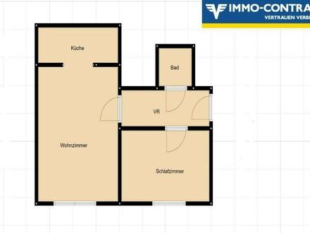 Helle 2 Zimmer Wohnung im 10. Bezirk