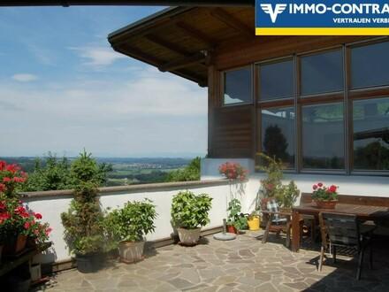 Aussicht über die schöne Südoststeiermark - Traumvilla mit hoher Lebensqualität