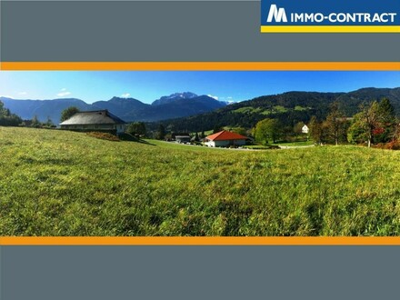 Sonniges Traumbaugrundstück mit Panoramablick