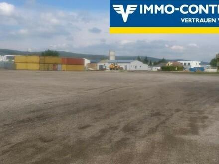 Befestigte Freifläche/Lagerplatz 12.000m²