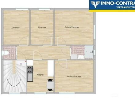 Gepflegte 4-Zimmer-Wohnung I Garten- und Poolmitbenützung