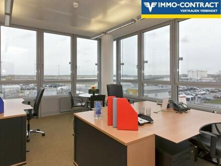 Flexible Bürollösungen beim Flughafen Wien Schwechat - PROVISIONSFREI