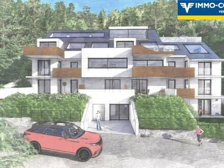 am BergBlick19 - Bergidylle mit Weitblick - Luxuswohntraum am Leopoldsberg. Baubeginn Nov. 2020. Top 2