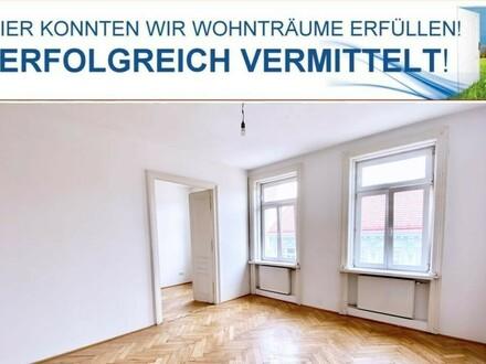 ERFOLGREICH VERMITTELT ! 3 Zimmer Altbau Wohnung mit Flügeltüren