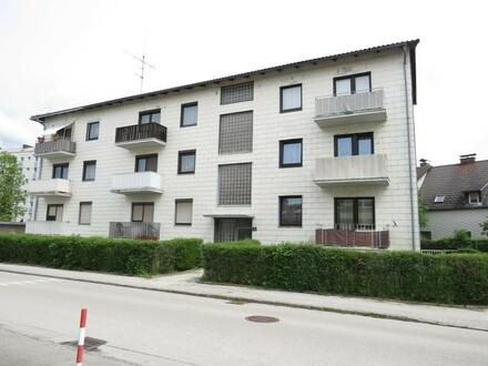 Möblierte 3 Zimmerwohnung inkl. Balkon und Garage