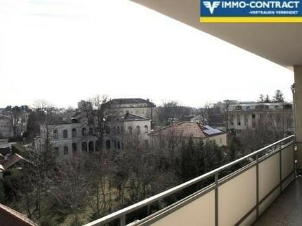 Wohnung mit 2 großen Loggien in bester Lage in Baden