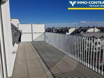 Dachterrassen-Wohnung mit Superblick