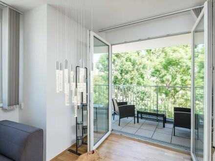 4 ZI-Wohnung mit Loggia und Balkon neben Seeschlachtpark