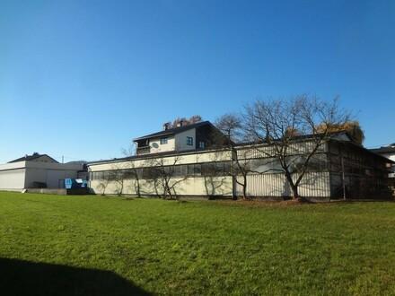 Gewerbeliegenschaft B145 Pinsdorf mit Wohnhaus zu Vermieten