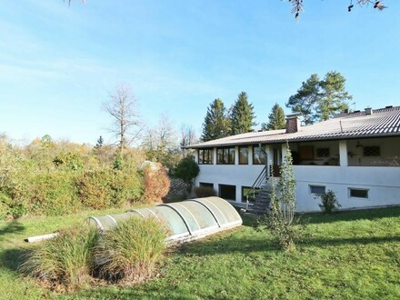 4.000m² Grundstück direkt an der Traun - unverbaubar!