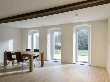 Eine von 8 neuwertigen Wohnungen im Gutshof ist wieder verfügbar - LEBEN am BACH !