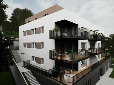 """Top 3-Zimmer-Wohnung mit großer Terrasse im Neubauprojekt """"Kachelofen"""""""