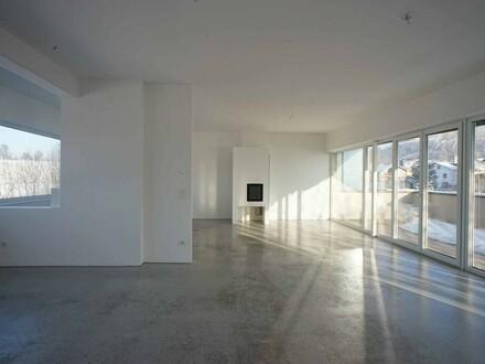 modernes Penthouse mit Traunsteinblick