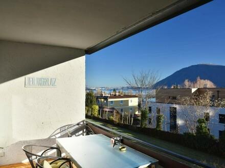 renovierte 2-Zimmer-Wohnung mit tollem Blick