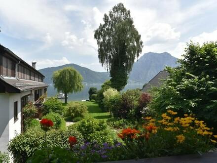 3-Zimmer Mietwohnung direkt am See mit Liegewiese und Badesteeg
