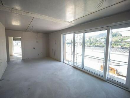 2-Zimmer-Dachgeschosswohnung mit großer Terrasse!