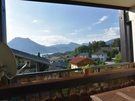 3-Zimmer Wohnung mit schönem Seeblick in Altmünster