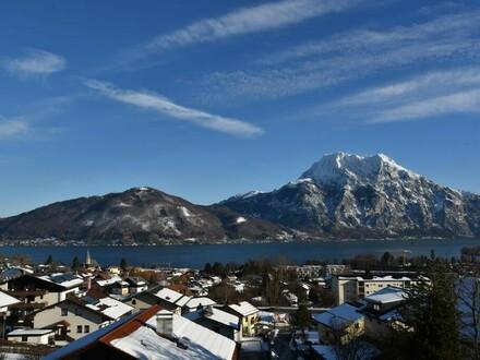 Renovierte 2-Zimmer-Wohnung mit See- und Panoramablick