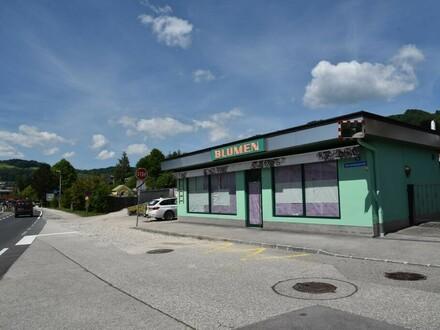 Geschäftslokal an der Bundesstraße