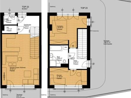 """Maisonetten-Wohnung im """"Traunschiff"""""""