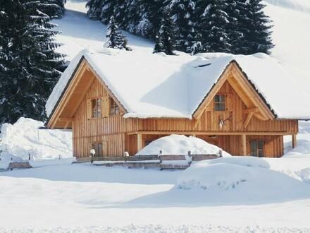 Eine traumhafte Ferienhütte in Gosau inkl. Skistall