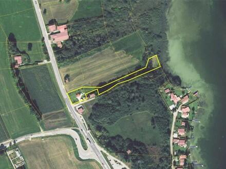 Grundstücksansicht Luftaufnahme