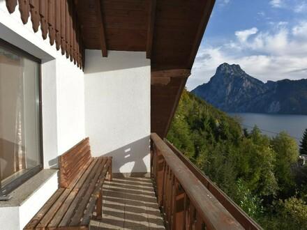 Balkon mit Traunsee