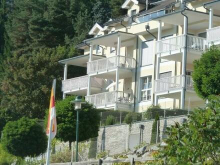 Millstätter See: Garten-Terassen-Wohnung mit faszinierendem Blick und direktem Seezugang