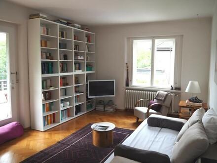 Salzburg Nonntal: Exklusive Altbauwohnung, sonnig, großzügig, 5-6 Zimmer mit Terrasse und 320 m² eigenem Garten