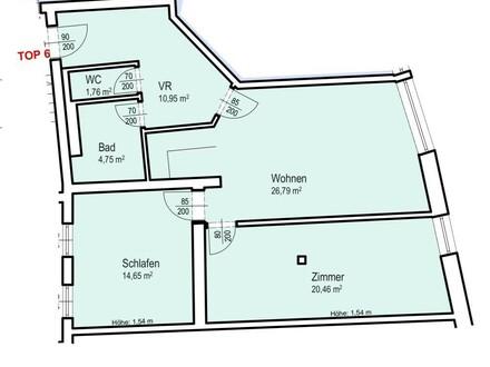Radstadt - 3 Zimmerwohnung mit Flair