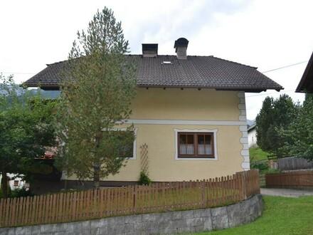 Einfamilienhaus mitten in den Bergen vom Biosphärenpark Lungau