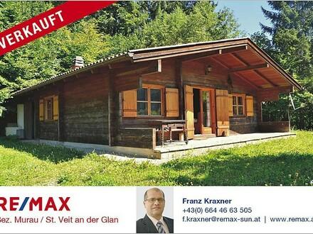 Ferienhaus in Holzbauweise/Almhüttenstil in Alleinlage
