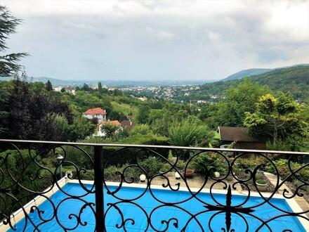 Villa mit unverbaubarem Fernblick