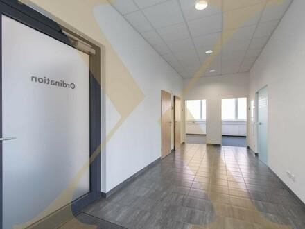 Zentrale Bürofläche mit ausreichend Parkplätzen im Prinz-Eugen-Center in Linz zu vermieten