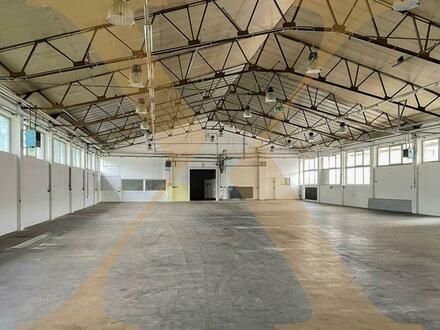 Beheizte Lager- bzw. Produktionshalle mit 2 Rolltoren inklusive Bürofläche in Gunskirchen/Wels zu vermieten