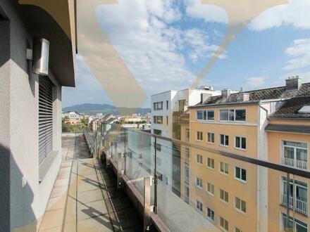 Zweigeschoßige 4-Zimmer-Wohnung mit wunderbarem Ausblick in der Linzer Innenstadt zu vermieten!