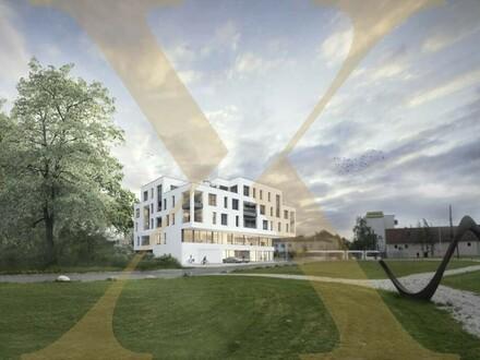 Neubauprojekt - Am Schlosspark Traun - Flexible Geschäfts-/Büroeinheiten zum Kaufen! (zB Geschäftslokal mit 172,39m²)