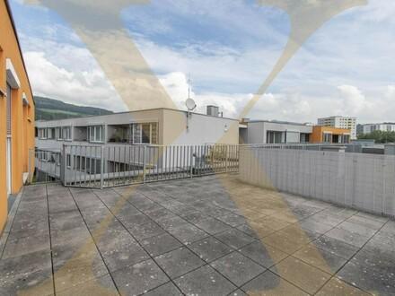 Großzügige 5-Zimmer-Wohnung mit ca. 22 m² großer Dachterrasse in Urfahr zu vermieten!